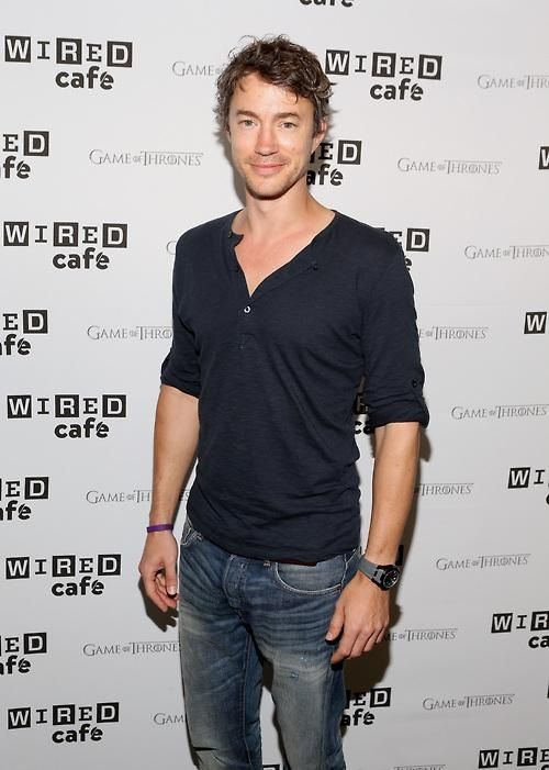 Tom Wisdom in WIRED Cafe @ Comic Con - Day 3