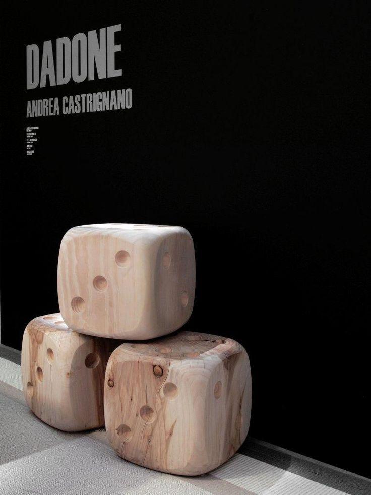 DADONE stools design by Andrea Castrignano
