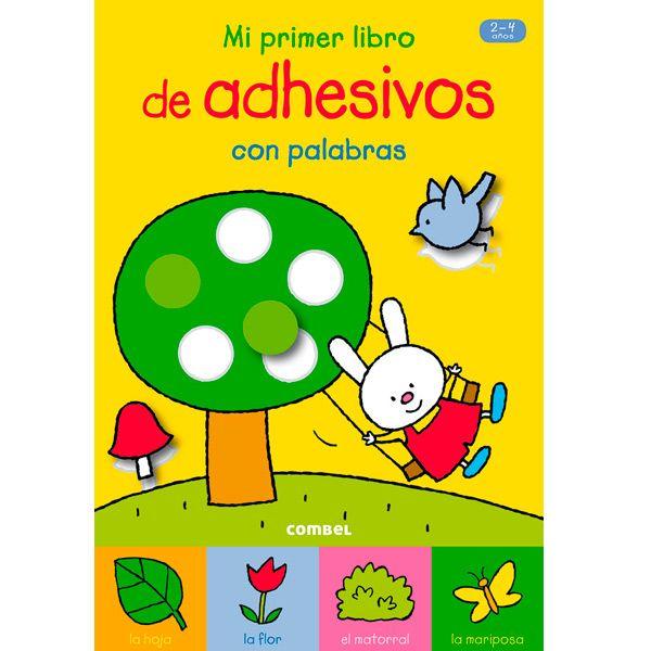 MI PRIMER LIBRO DE ADHESIVOS CON PALABRAS Este libro de adhesivos combina dos actividades que les encanta a todos los niños: pegar y colorear. Vuestro hijo se divertirá mucho buscando los adhesivos, pegándolos y después coloreando los dibujos.  PVP: 4.90 € http://www.babycaprichos.com/mi-primer-libro-de-adhesivos-con-palabras.html