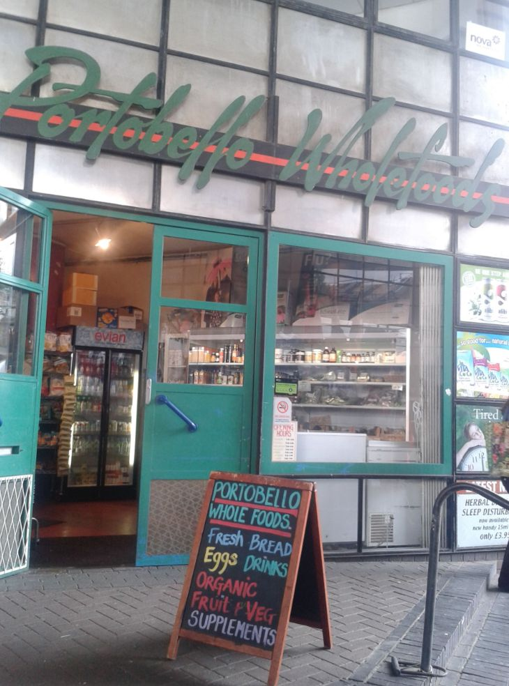 A mini vegetarian/organic haven selling everything from a small selection of fruit and veg to more specialist meat-free/wheat-free/gluten-free/dairy-free/anything-you-like-free food. If you don't want to make the trek to Whole Foods on Kensington High Street, this small shop has most of the specialist products you would find there anyway. Great selection of vitamins and supplements.