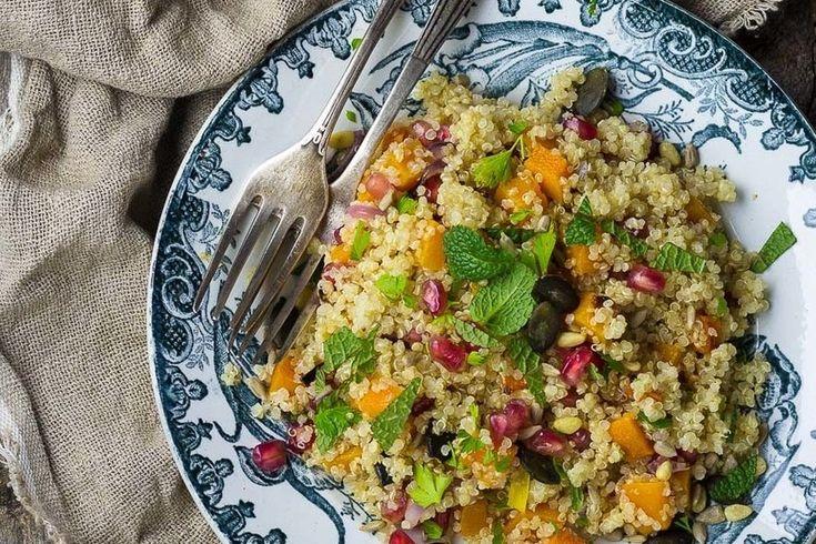 Recetas con cereales, legumbres, con frutas, ricas en proteínas, con pescado y más