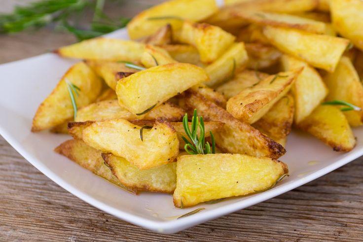 Piccola guida per preparare delle patate al forno perfette, croccanti fuori e morbide dentro!
