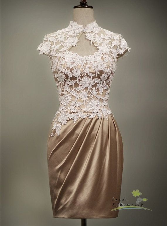 If only I had this when I got married :) Page/bridesmaid dress/bridal by pandaandshamrock on Etsy, $280.00