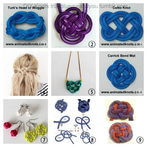 Roundup of Knots, Resources and Tutorials. I love using ...
