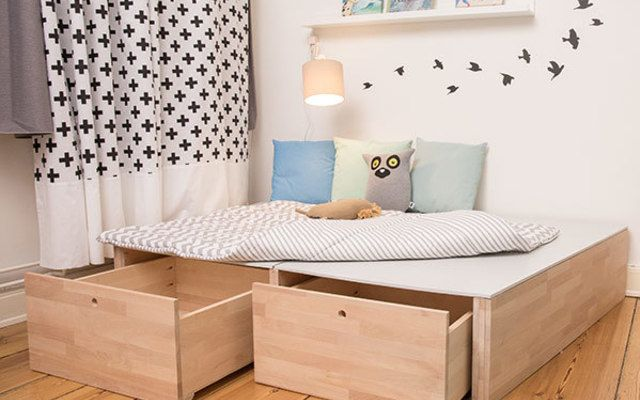 1000 ideen zu podest bauen auf pinterest plattform schlafzimmer smart home und diy bett. Black Bedroom Furniture Sets. Home Design Ideas