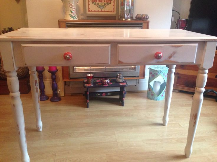 Painted and Upcycled desk