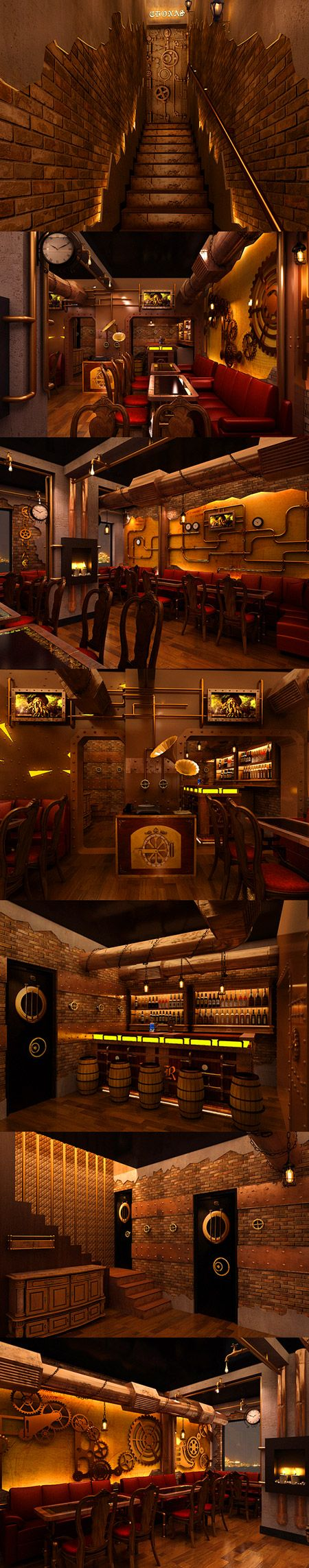 Fascinating Look at the World's First Steampunk Restaurant--too bad it's in New Delhi, India! - TechEBlog