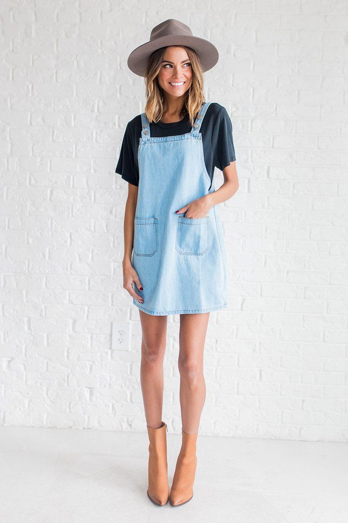 Jumping back into summer with our overalls.