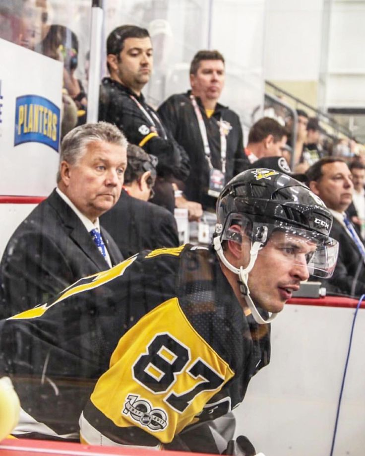 Sidney Crosby in the box #HockeyvilleUSA