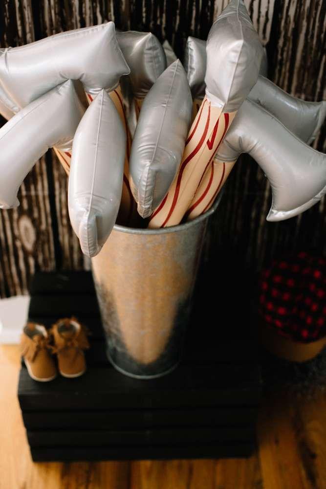LumberJack- #soplaid you came! Birthday Party Ideas | Photo 2 of 45