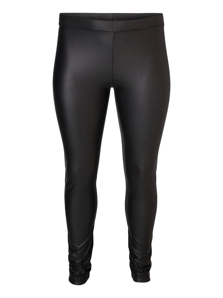 Coated plus size leggings from JUNAROSE #junarose #plussize #leggings #backtoreality