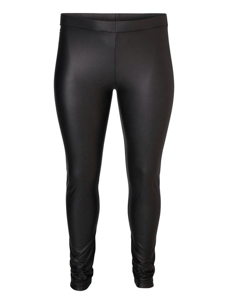Coated plus size leggings from JUNAROSE #junarose #plussize #leggings #backtoreality