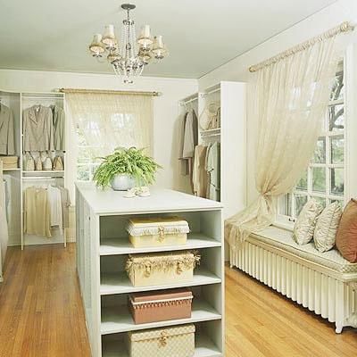 Decor To Adore: Permission To Purge: Decor, Dream Closets, Dressing Rooms, Walk In Closet, Favorite Places, Dreams, Master Closet, Closet Ideas, Window Seats