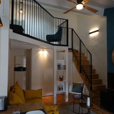 Rénovation et décoration studio à Lyon Bellecour, Vertinea decoration interieure Lyon