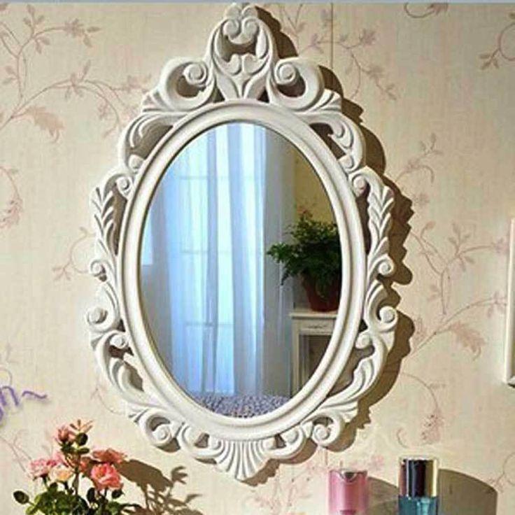 2015 European Vintage Bedroom 60*40 Framed Mirror Elliptical Bathroom Emboss Flower Toilet Glass Mirrors Home Decor Barber Shop K5453 Large Floor Mirrors For Cheap Large Framed Floor Mirrors From Star_baby, $43.36| Dhgate.Com