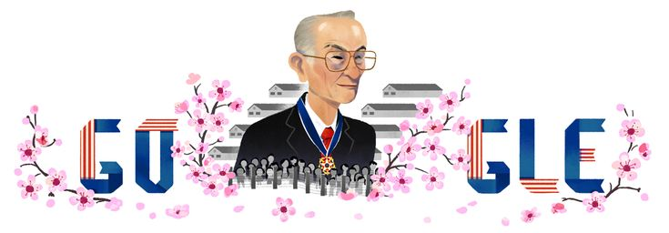 Google's US homepage features Fred Toyosaburo Korematsu, a Japanese-American who tried to enlist in the military during World War II, but was turned away.