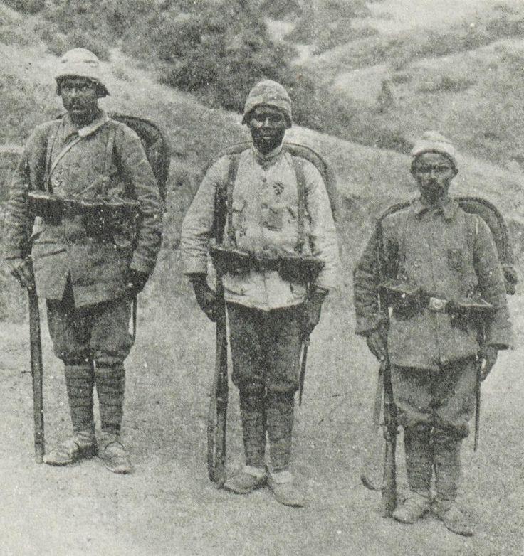 [Ottoman Empire] An African Origin Ottoman Soldier Corporal Shukri, 1915 (Çanakkale'de Afrikalı Osmanlı Onbaşı Şükri)