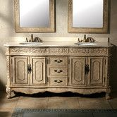 Found it at Wayfair Supply - Classico Double Bathroom Vanity Set