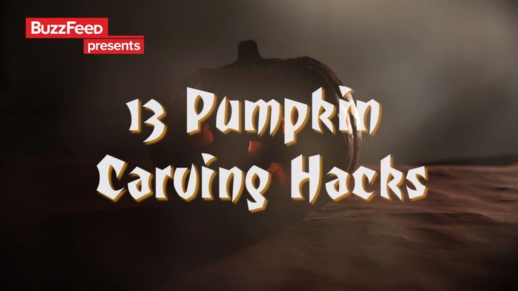 13 Last Minute Pumpkin Carving Hacks // #halloween #halloween2017 #halloweenfood #halloweendecor #nifty #diy #pumpkins