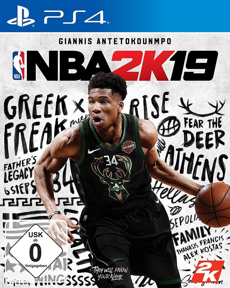 NBA 2K19 Standard Edition [PlayStation 4] NBA 2K ist seit