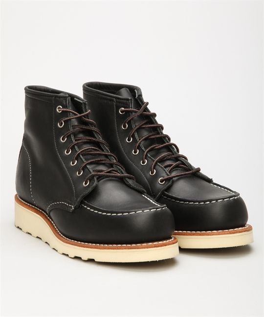 """Köp Red Wing Shoes damskor hos Lester Skor online. Vi erbjuder Red Wing Shoes 6"""" Classic Work 3373 Moc Toe-Black och utvalda märkesskor. Lester Skor erbjuder fri frakt och säker betalning."""