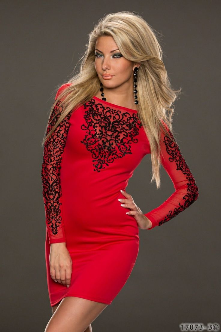 Rochie SplendorLady Red >> Click pe poza pentru a vedea pretul. #rochii #rochiideseara #fashion #dress #rochiideocazie