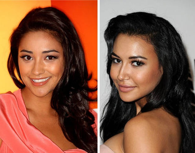 Shay Mitchell and Naya Rivera: Darling Doppelgangers ...