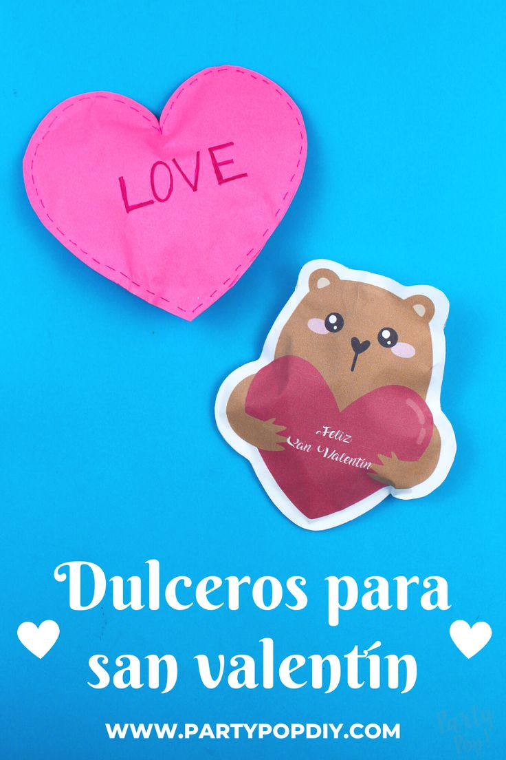 Dulceros para san valentín #dulceros #sanvalentin #dulcero #bolsitas #corazondepapel Baby Shower, Chocolates, Diy, Sugar, Saints, Cakes, Sachets, Valentines, Crates
