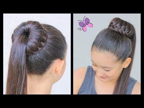 Tuto coiffure simple et rapide  Tresse serre-tête cheveux long/mi long  facile à faire - YouTube