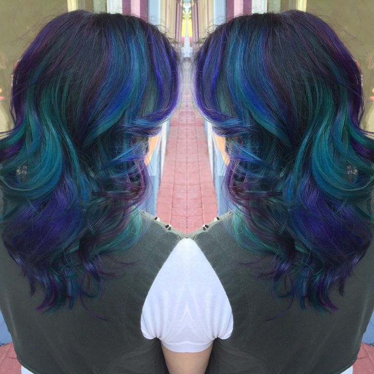Color I did using joico color intensities!