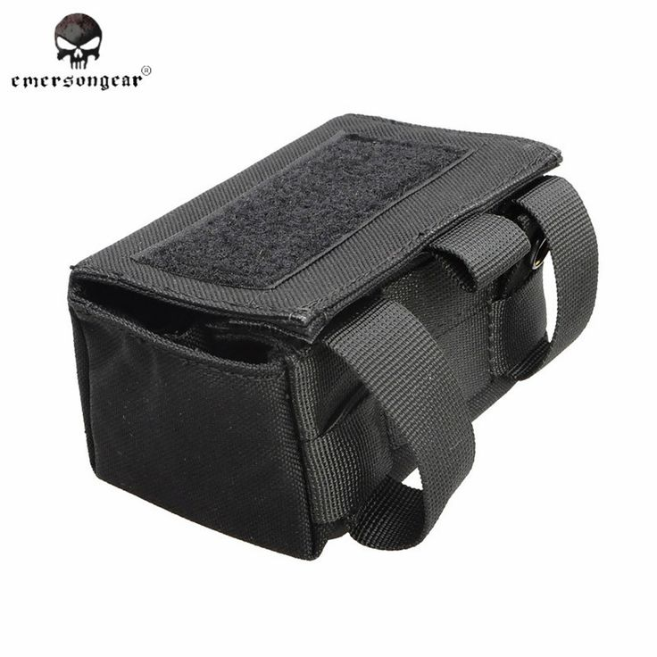 Emerson 1000D Molle Bullet Ammo Holder Box Paintball Airsoft Tactical Shotgun Bullet Bag Hunting Shotgun Waist Bag Pouch EM9040A
