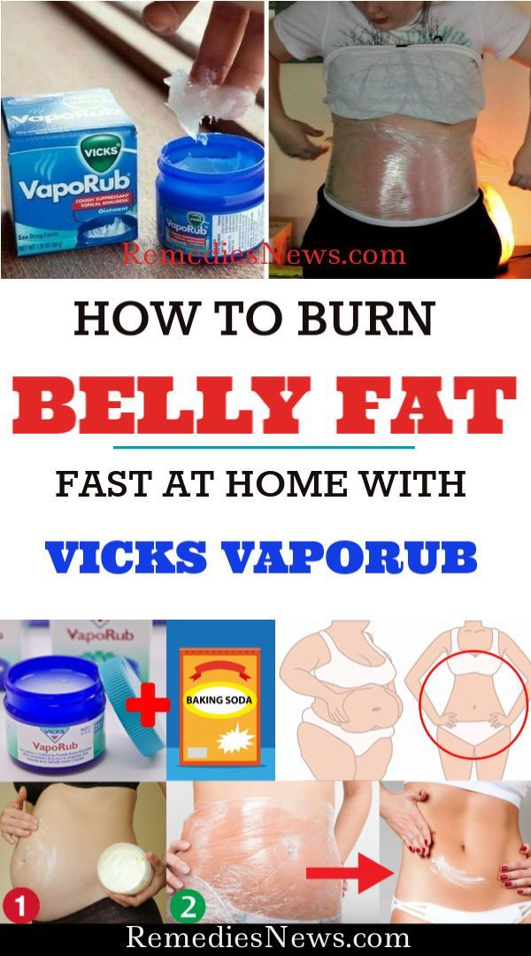 does vicks help you lose belly fat
