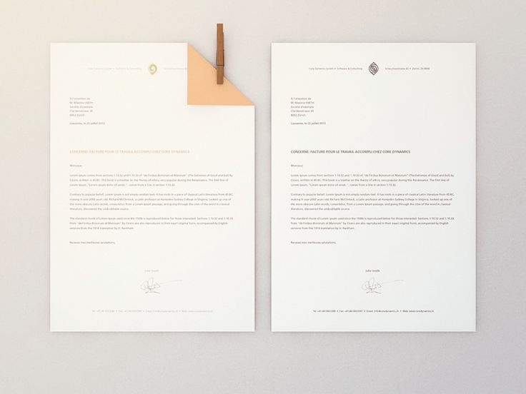 Best Letterhead Images On   Stationery Design Graph
