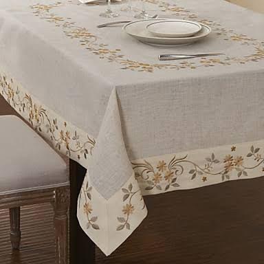 Resultado de imagem para toalha de mesa em linho