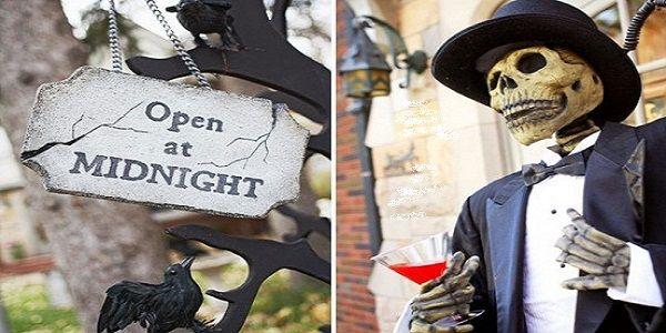 Smart and Creative Halloween Outdoor Decoration DIY