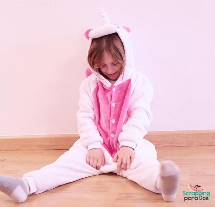 Pijama de Unicornio Rosa