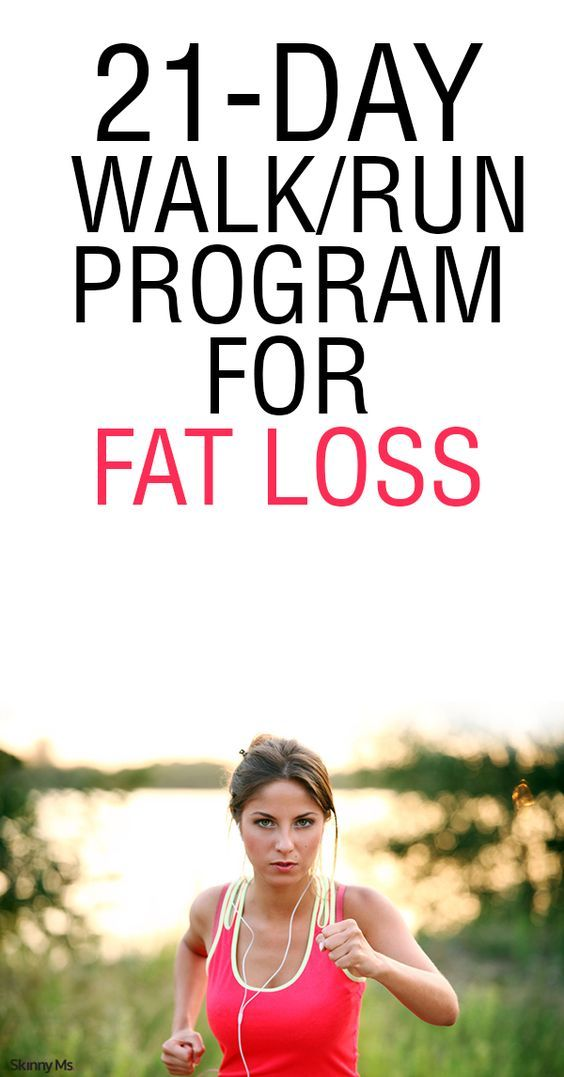 21-Day Run/Walk Program for Fat Loss