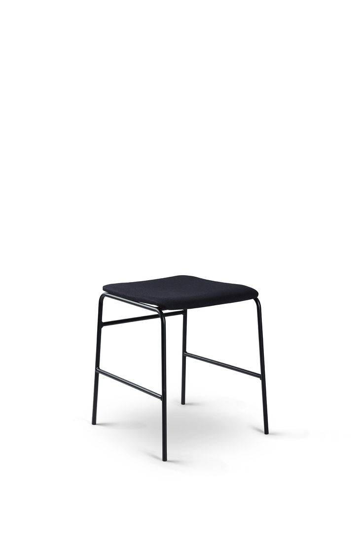 Rest on this Black in Black beauty - Sincera Stool // Bent Hansen