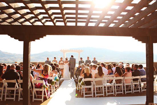 Ceremony, vineyard wedding (Osoyoos, BC)