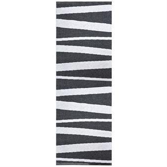 Åre rug black-white - 70x200 cm - Sofie Sjöström Design