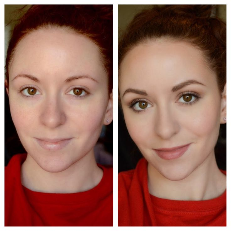Before and after: quick and easy everyday makeup routine!