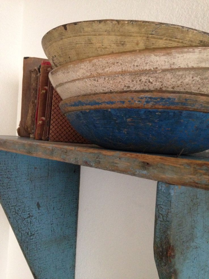 Early painted wood bowls- just gorgeous!!