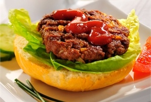 Grillowany burger / Grilled burger  www.winiary.pl
