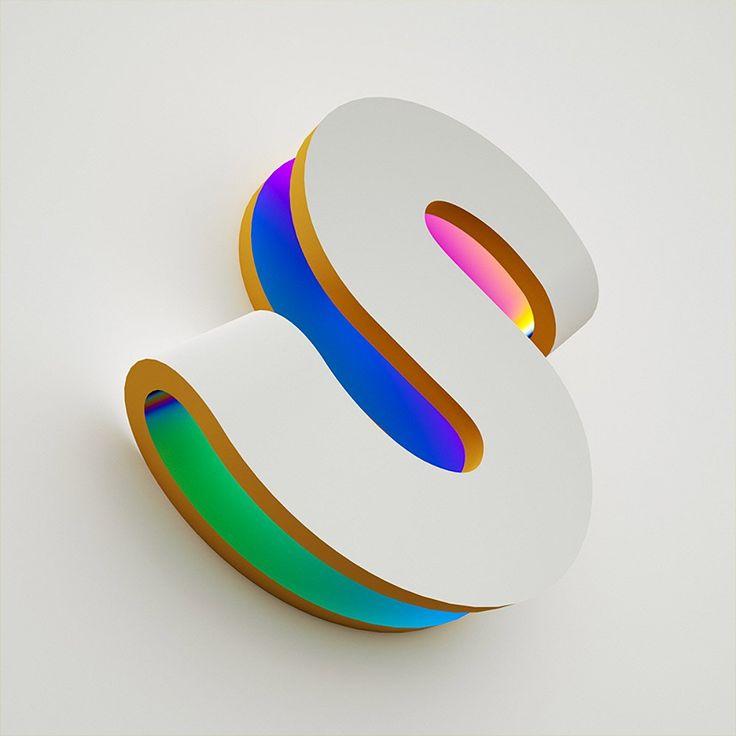 Eine interessante Typografie von Alex Schlegel