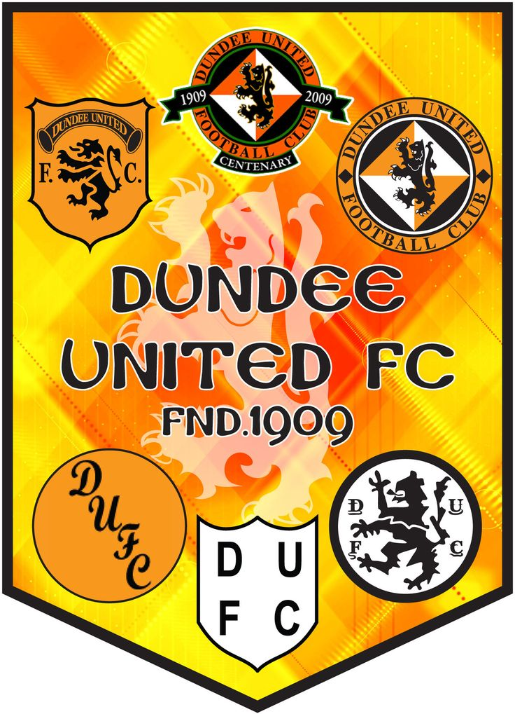the logos of Dundee united