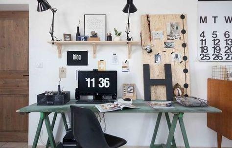 Рабочий настрой: 4 идеи декора домашнего офиса | Свежие идеи дизайна интерьеров…