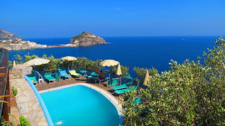 Punta Chiarito Resort in Panza, Ischia. Part of the Ischia Review Gallery - www.ischiareview.com