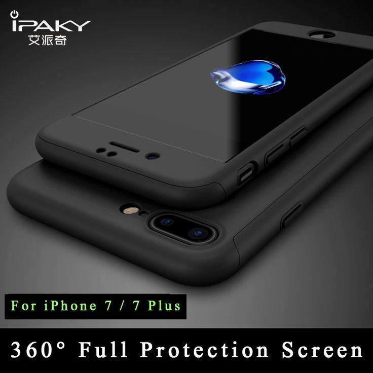 iPaky Ultra Thin 360 full For iphone 7 case + Tempered Glass Screen Protector for iPhone 7 plus case Full Body Cover For iphone7 //Price: $15.98 & FREE Shipping //     #hashtag2