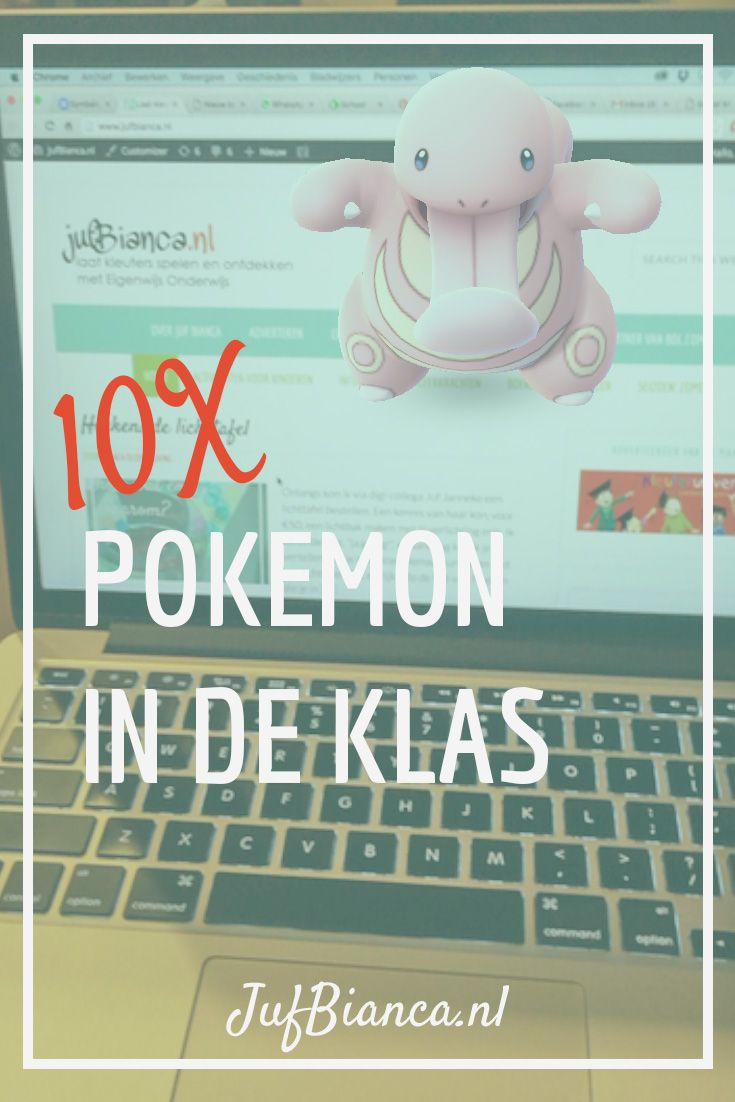 10 x Pokemon Go in de klas