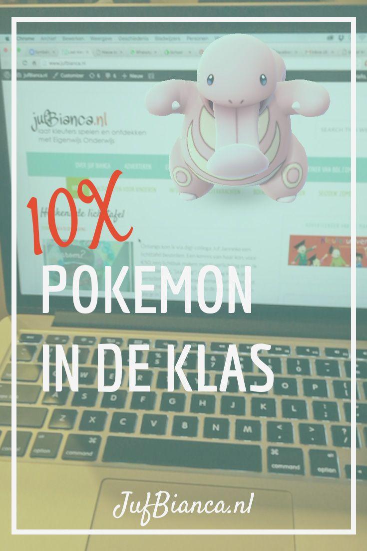Zoek jij ideeën om na de zomervakantie met Pokemon Go in de klas aan de slag te gaan? Juf Bianca verzamelde 10 ideeën die je kunnen…
